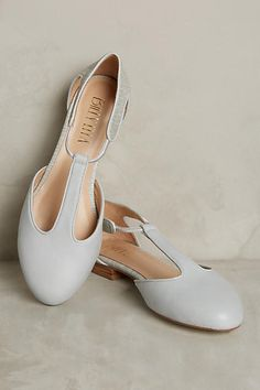 Fairmount T-Strap Flats - anthropologie.com