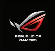republic gamers logo rh pinterest com republic of gamers logo asus republic of gamers rog logo sticker