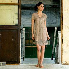 Vintage-style Anusha dress.