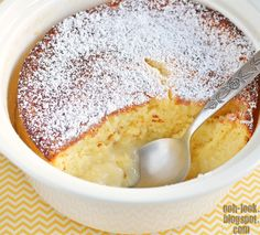 Ooh, Look...: Simply: chilled lemon delicious pudding