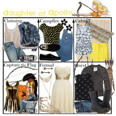 """Daughter of Apollo ~ Wardrobe"" by liesle on Polyvore"