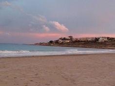 Atardecer en la Playa de San Juan, ¡qué colores! ¡Impresionante! #PlayaSanJuan #Alicante