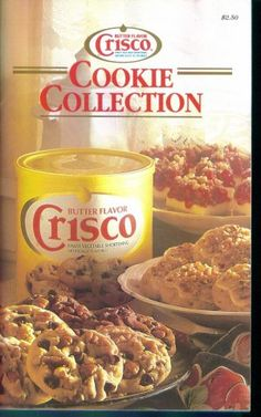 Butter Flavor Crisco Cookie Collection(U)