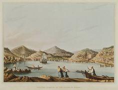 The port of Pythagoreion on Samos island. Samos, Ottoman Empire, Greece, Island, History, Painting, Books, Art, Greece Country