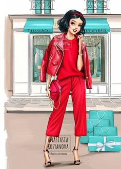 Russian Artist Illustrates How Disney Princesses Would Dazzle In Modern Luxury Brands Russian Artist Illustrates How Disney Princesses Would Dazzle In Modern Luxury Brands - bemethis All Disney Princesses, Disney Princess Drawings, Disney Princess Pictures, Disney Princess Art, Disney Girls, Disney Drawings, Drawing Disney, Disney Art, Disney Punk