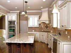 Giallo Ornamental Granite Countertops (3531), Giallo Ornamental, South San Francisco, California
