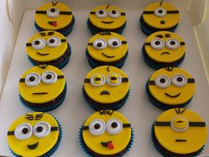 Dispicable Me cupcakes