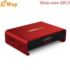 T95U Pro MAX RAM 3G ROM 32G Amlogic S912 OCTA Core Android 7.1 Smart TV Box 4K H.265 5G Wifi media player BT HD box smart tv //Price: $0.00//     #shopping
