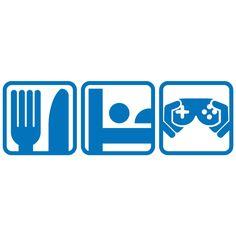 Eat Sleep Video Games