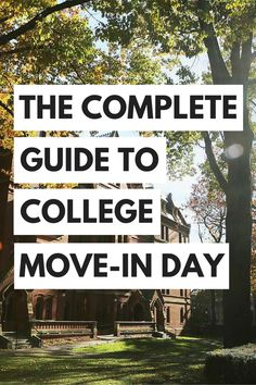 Your complete guide to making college freshman move in day less stressful and more memorable! We have tips on college life, starting school and making the most of your college experience.