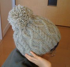 Ravelry: p.7 Diamond-patterned cap pattern by Puppy (Daidoh International, Ltd.)