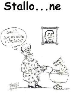 """""""Impiegato per hobby"""" di Enrico Martelloni - Governo in stallo...ne"""