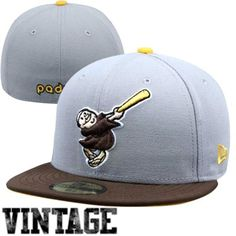New Era San Diego Padres Two-Tone 59FIFTY Fitted Hat - Gray/Brown http://www.fanatics.com/MLB_San_Diego_Padres_Hats/New_Era_San_Diego_Padres_Two-Tone_59FIFTY_Fitted_Hat_-_Gray_Brown