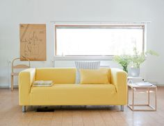 1000 images about mellow yellow on pinterest product for Canape klippan ikea