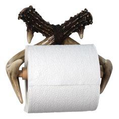 Deer Antler Toilet Paper Holder