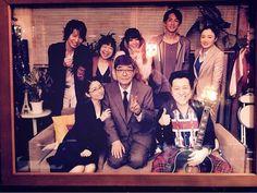 ドラマ「美女と男子」2015年夏 - 初代日の出プロメンバーの記念写真