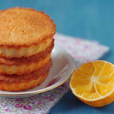 Découvrez la recette Financier à l'orange sur cuisineactuelle.fr.