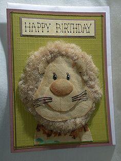 Kids Birthday 3D Greeting Card 1118