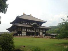 Tdai-ji formerly the largest wooden building in the World  #architecture #tdai-ji #formerly #largest #wooden #building #world #photography