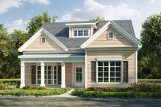 House Plan 6082-00127 - Traditional Plan: 1,815 Square Feet, 3 Bedrooms, 2.5 Bathrooms