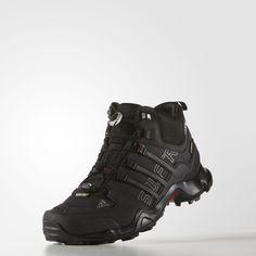 3547ad5056d06 Adidas Terrex Swift R Mid Gtx Mens Shoes Core Black Vista Grey Power Red  B44136 Adidas