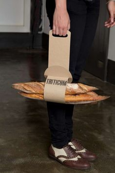 Custom-Fit Pastry Packaging http://www.trendhunter.com/trends/bread-packaging