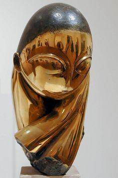Pogany by Constantin Brancusi Constantin Brancusi, Miguel Angel, Brancusi Sculpture, Sculptures Céramiques, Garden Sculptures, Modern Art Sculpture, Art Deco Pattern, Modern Art Deco, Art Et Illustration