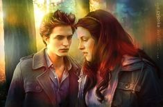 "FANART It was a great pleasure for me to create another Twilight fanart. I also collected an imaginal soundtrack list for the Twilight Saga ""next chapter"". The story not written . yet - but hope . Jacob And Bella, Twilight Bella And Edward, Bella Cullen, The Cullen, Edward Bella, Twilight Story, New Twilight, Twilight Movie, Twilight Saga"