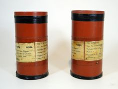 276) Two post WWII military tyre repair kits with original tubes and labels Est. £20-£30