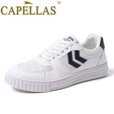 CAPELLAS Nuovi uomini di moda scarpe di tela Scarpe da uomo casual di marca  estate traspirante scarpe casual da uomo 39-44 Sapatos Dropshippig ee1c18c621e