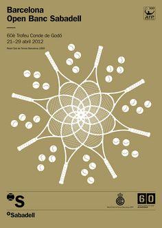Cartel Oficial del Barcelona Open Banc Sabadell #bcnopenbs