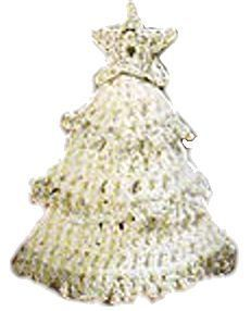 Puffy Crochet Christmas Tree - free vintage pattern