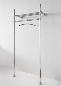 Amazing clothing rack made from Kee Klamp
