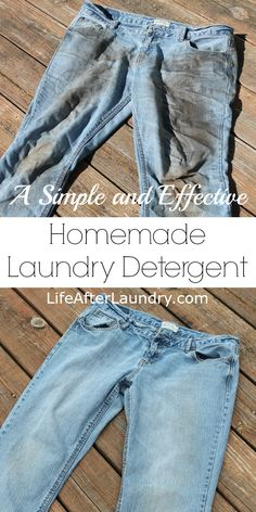 A Simple and Effective Homemade Laundry Detergent Recipe