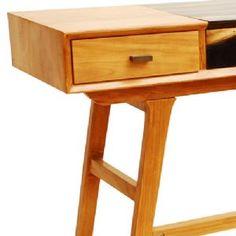 Retro Two Tone Mid Century Console Table £395