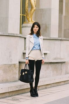 #HanneliMustaparta Vanessa Jackman: Paris Fashion Week AW 2012...Hanneli