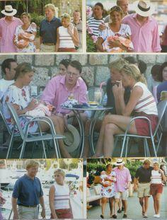 Overzichtje van de vakantie in augustus 2002, Porto Ercole.