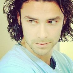 Love Aidan Turner in scrubs. (Being Human UK)