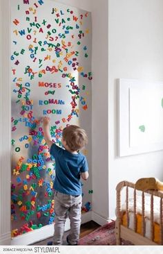 What a FAB idea! But can I paint the metal w/blackboard paint? So Emma can use magnets & her chalks....