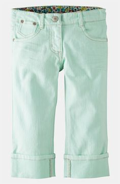 Mini Boden Crop Jeans (Toddler, Little Girls & Big Girls) available at #Nordstrom