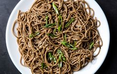 A few pantry staples turn plain soba noodles into a meal that's fit for company.