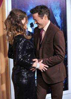 "Expectant Dad Robert Downey Jr. is Having ""Sympathy Cravings\"""