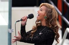 Second time's a charm! Not that Beyonce's vocal performance of 'At Last' at Barack Obama's inaugural