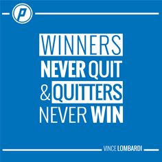 Playmakers don't quit!