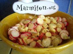 Salade de radis roses : Recette de Salade de radis roses - Marmiton