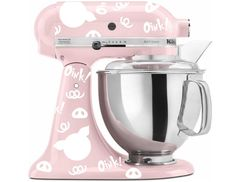 Pig Print Decal Kit for your Kitchenaid Stand Mixer - Oink! by InGoodCompanyLtd on Etsy https://www.etsy.com/listing/213499631/pig-print-decal-kit-for-your-kitchenaid