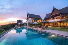 Villa I in Phuket has sweeping ocean views. Say hi! ow.ly/1FVZ306XYoE #luxuryhomes #luxurytravel #luxuryliving