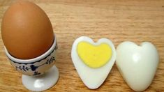Tell him you love him, treat the kids, make eye-catching accents for your party buffet table with these clever, easy to make heart-shaped hard boiled eggs. Hard Boiled, Boiled Eggs, Valentines Day Food, Party Buffet, Healthy Eating For Kids, Egg Shape, Snacks, Cute Food, Egg Recipes