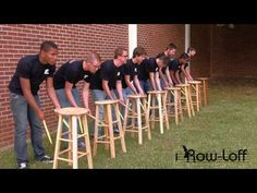 ▶ Julie Davila - Stool Pigeon - Row-loff Productions! -  (chair drumming for…