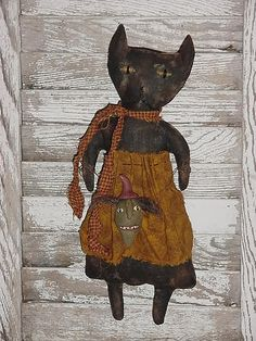 Cat & Witch Head by Off The Beam, via Flickr